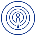 Webinars & Podcasts icon