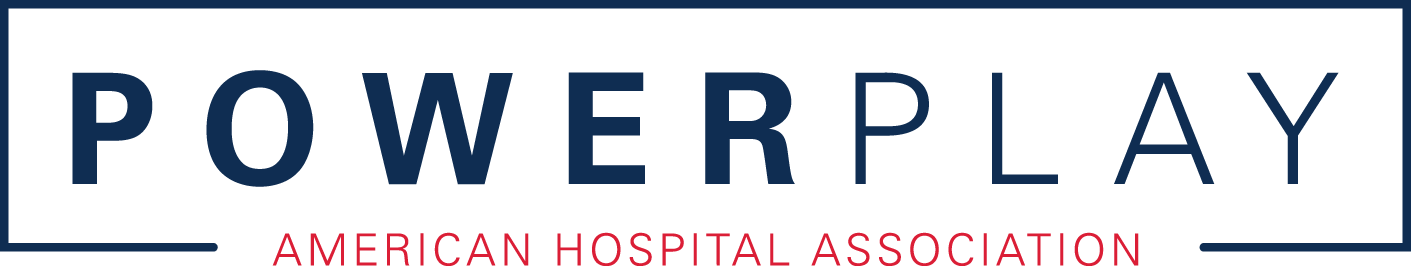 PowerPlay logo. American Hospital Association.