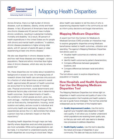 Mapping Medicare Disparities Image