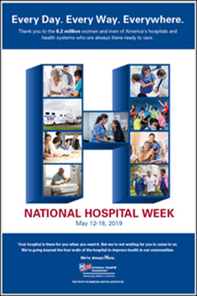 2019 National Hospital Week: May 12-18 | AHA
