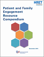 Patient and Family Engagement Resource Compendium – January 2016