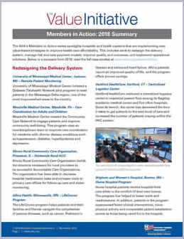 Members In Action 2018 Summary Image