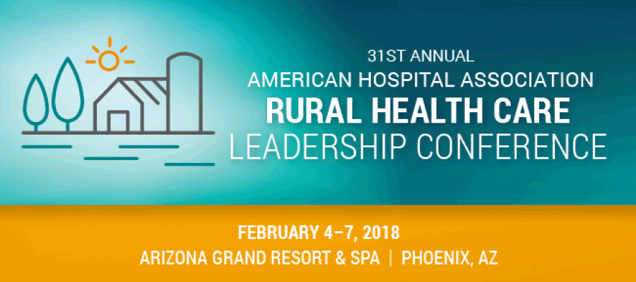 Rural Health Care Leadership Conference banner
