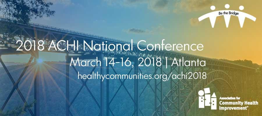ACHI National Conference 2018 banner