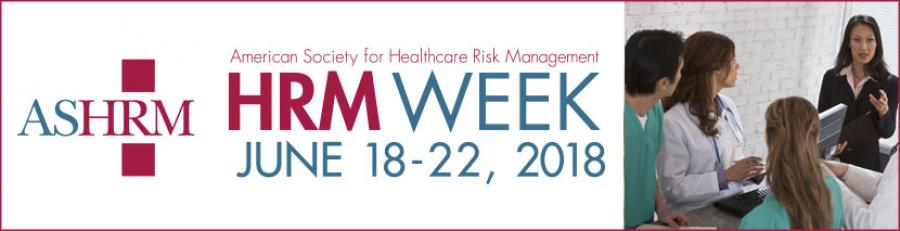 Health Care Risk Managers Week