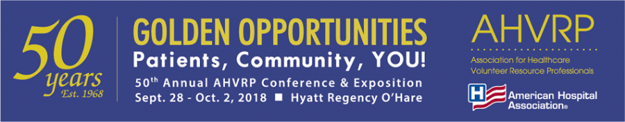 AHVRP 2018 Annual Conference banner