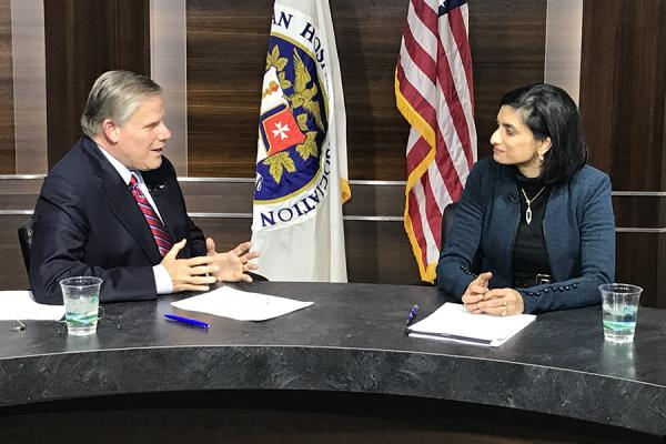 Rick Pollack and Seema Verma