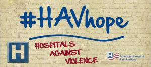Hospitals Against Violence logo
