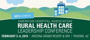 AHA Rural Health Care Leadership Conference 2019 Banner